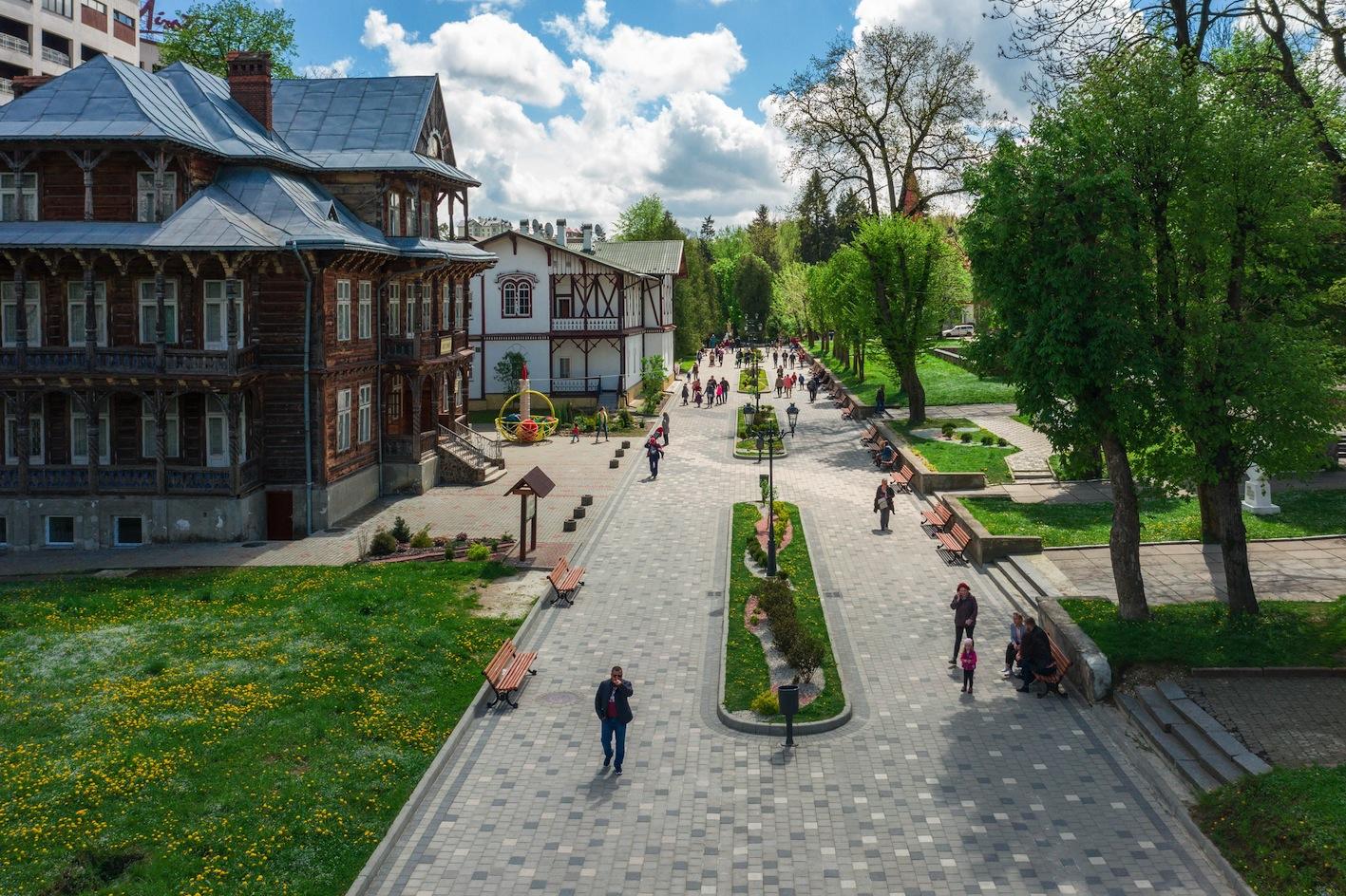 Truskavets Terme La Citta Della Salute E Del Benessere Regione Di Lviv Carpazi D Ucraina Bioviaggi